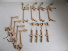 Lot of 12 felt covered Piano Hammers 3 Sizes from 1895 Strich Zeidler Steampunk