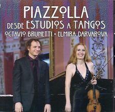 CD ASTOR PIAZZOLLA DESDE ESTUDIOS A TANGOS BRUNETTI PIANO  ELMIRA DARVAROVA