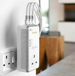 Single Devolo dLAN 500 AV MT:2416 Wireless Add-on powerline adapter 3 ports wifi