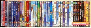 💿 Lotto 42 DVD Cartoni animati bambini Disney Pixar Dreamworks 20th Century Fox