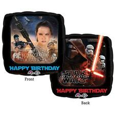 Star Wars Episode 7 Happy Birthday Foil Balloon/Star Wars Party Decorations