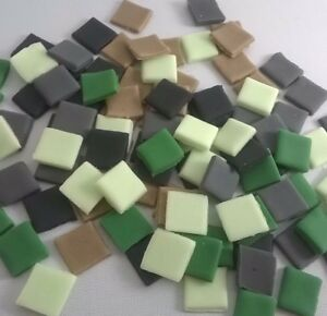 100 MINECRAFT 13MM EDIBLE PIXELS SQUARES CAKE TOPPERS | CUPCAKE TOPPERS