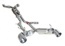 Brand New SS Dual Muffler Exhaust System for 09-15 370Z Z34 VQ37DE Engines