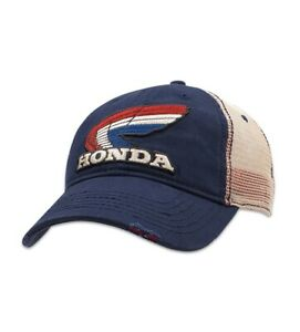Powertex Honda Racing Wing Men's Vintage Cap Hat ATC CBR CRF TRX
