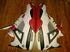 Nike Air Jordan IV 4 Mars sz 8 2006 White/Varsity Red/Black 3 4 5 6 7 8 11 12 13