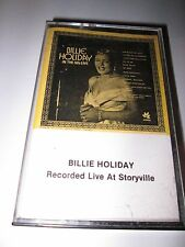 BILLIE HOLIDAY- Live At Storyville on ASTRO AMERICAN RECORDS, INC. CASSETTE TAPE