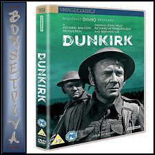 DUNKIRK - DIGITALLY RESTORED  John Mills &  Richard Attenborough **BRAND NEW DVD