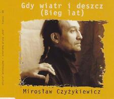 MIROSŁAW CZYŻKIEWICZ - GDY WIATR I DESZCZ (BIEG LAT) - EP CD, 1999 - PROMO