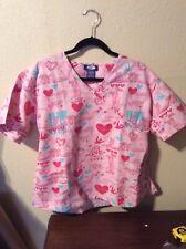 New listing Pink Panther Scrubs Scrub Shirt Top Large (Used)