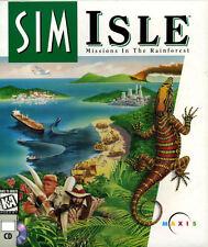 SimIsle: Missions in the Rainforest (PC, 1996) sim isle simulation game
