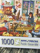 Bits And Pieces Staying At Grandma's Sealed 1000 Piece Jigsaw Puzzle