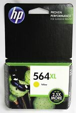 HP Hewlett Packard 564 Ink cartridge NEW Sealed Expired Yellow XL