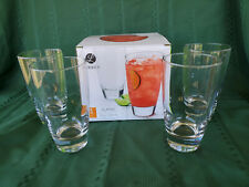 Libbey Classic Tumbler Glasses, Set of 4 New In Box 18 Ounces