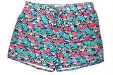 TED BAKER Fish Print Swim Shorts Trunks Sz.4/US 34  NWT $110