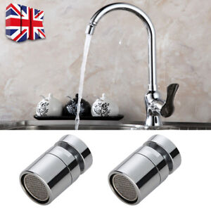 Steel Kitchen Tap Head Water Saving Faucet Bubbler Extender Sink Spray Aerator