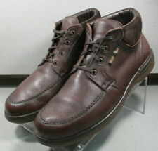 DARWIN BROWN MMPFBT70 Men Shoes Size 10.5 EUR 10 Leather Lace Up Boots Mephisto