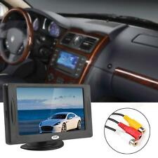 4.3Inch Color TFT-LCD Sunshade 2CH Video Input DVD VCR Car Rear View Monitor 12V