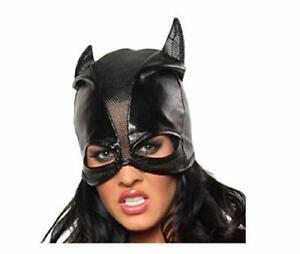 Sexy Role Play Dominatrix Cat Woman Bat Woman Ladies Full Head Mask