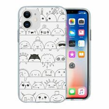 For Apple iPhone 11 Silicone Case Anime Cute Cartoon - S1563