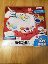 ArtSplash 3D Liquid Art Mattel Toys R Us The Toy Box TV Show Winner Craft