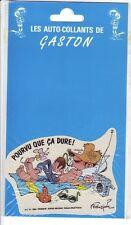Franquin autocollant Gaston Lagaffe 1990 (13)