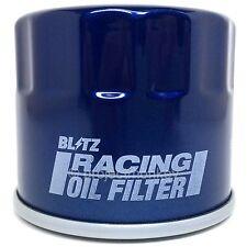 Blitz 18702 Engine Racing Oil Filter JDM Fits: Infiniti & Nissan UNF 3/4-16