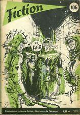 Revue Fiction N°105 - Farmer, Clarke, Curval, Demuth, Ray... - août 1962