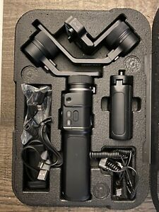 Feiyutech G6 Max Black Bluetooth 3 Axis Gimbal Stabilizer For Action Camera.