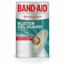 Band-Aid Brand Advanced Protection Blister Gel Guards Adhesive Bandages 6 Count