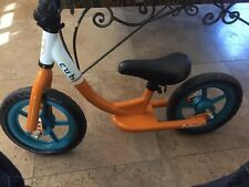 Critical Cycles Cub Kids Balance Bike No Pedal Bicycle - Orange Great Condition