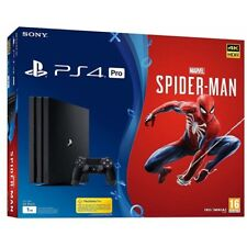 Consola Sony PS4 Pro 1TB Marvel Spiderman