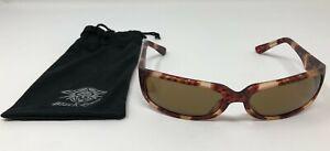 NEW Black Flys Mach 2 Tortoise Shell Brown Sunglasses tortoiseshell Amber