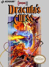 Castlevania III: Dracula's Curse For Nintendo NES Vintage 0E