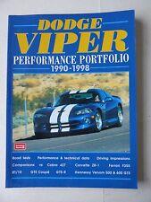 Dodge Viper Performance Portfolio 1990-1998 - R.M. Clarke - Brooklands Books