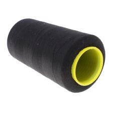 4500 metri filo per cucire in poliestere per macchina da cucire 60s / 2 nero