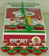 Ltd Edition dipinti a mano 2016 tabella Ungheria Squadra di calcio. come Subbuteo Calcio.