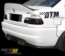 BMW E46 M3 GTR-S Race Rear Diffuser M3 2DR '01-'06 Carbon Fiber