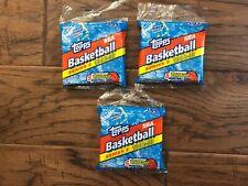 1992-93 Topps Basketball Series 2 Shaquille Rookie (3) pcks Jumbo Box