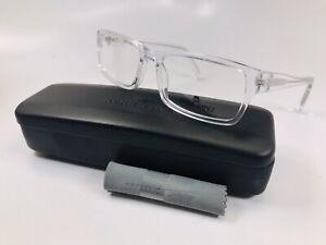 New Wide Guyz Crystal MOOSE Eyeglasses 60mm for The Stylish Large Man