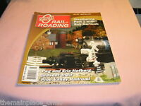 O Gauge Railroading Magazine April May 2007 Weather Pine Valley Railroad Train