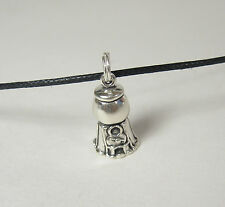 Gum Ball Machine Pendant Necklace .925 Sterling Silver USA Made Charm
