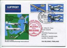 FFC 2001 Lufthansa Volo Speciale Junkers JU 52 D-AQUI DC-3 Aland Helsinki