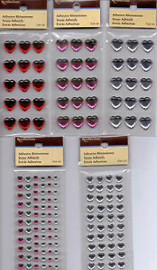 Recollections Adhesive RHINESTONES~Several Varieties~Nice!!~15-74 per pkg.