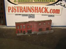 HO Scale Building Walthers Arrowhead Ale Background Built Weathered