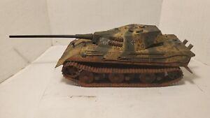 Pro Built German E-50 Pantherzahn What if...1946 tank 1/35 scale Model
