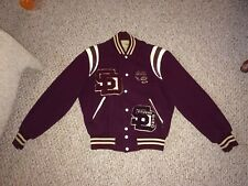 Vintage SD COUGARS Football TRACK  BAND Letterman Jacket!! Old!