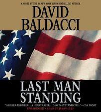 LAST MAN STANDING unabridged audio book on CD by DAVID BALDACCI