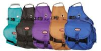 Showman ® Nylon Deluxe Multi Pocket Saddle Bags Horse Tack Equine