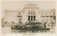 1924 British Empire Exhibition Canada from the Lake Real Photo Postcard rppc