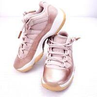 Nike Air Jordan 11 Retro Low Women's Size 5.5 Rose Gold Bronze AH7860-105 Shoes